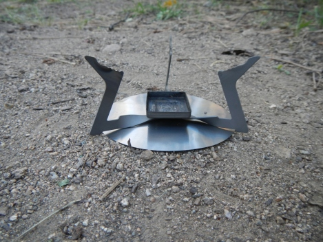 Wing stove and ground reflector.