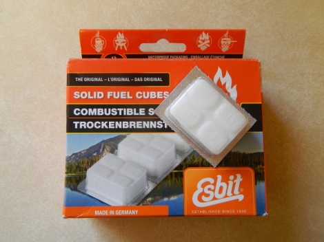 14gram Esbit tab packaging